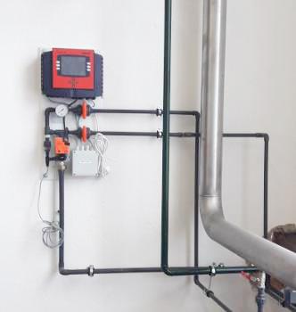 Měřící panely pro kontinuální měření kvality vody