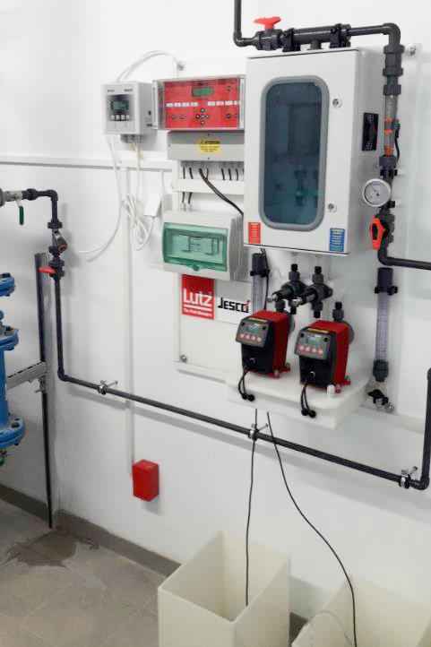 Dezinfekce vody, generátory ClO2